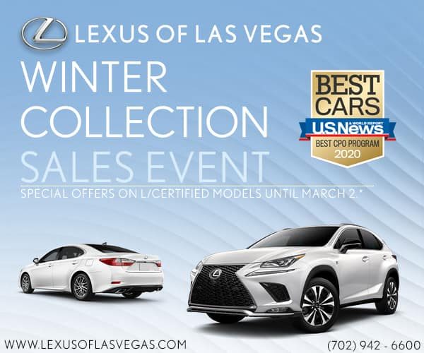 Lexus of Las Vegas Winter Collection Sales Event
