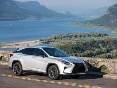 Photo of Lexus RX 350 for lease and finances page