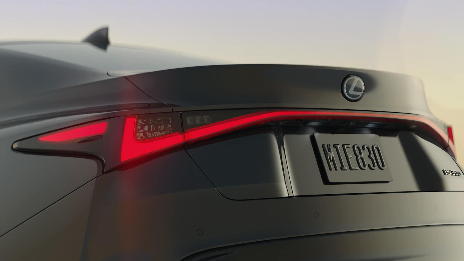 Lexus IS300 tail lights Lexus of Las Vegas