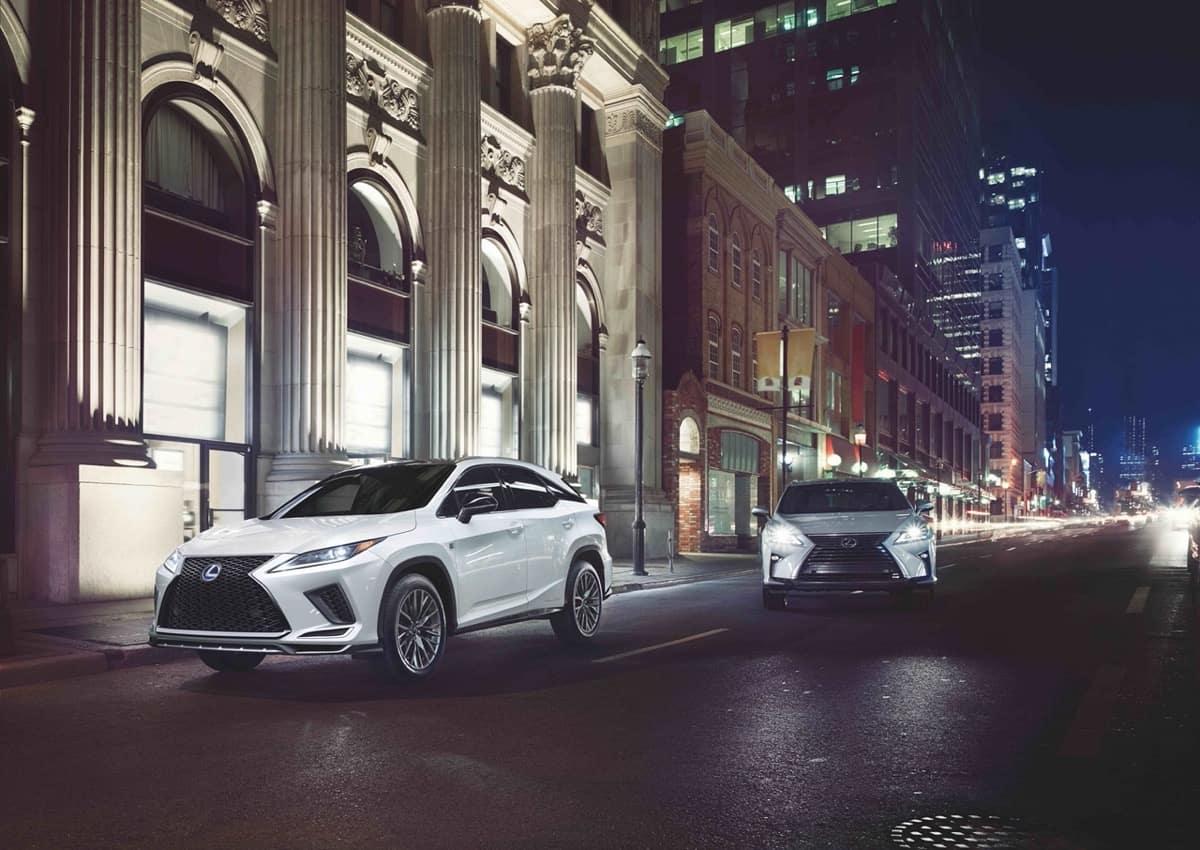 Lexus RX 450h duo white silver