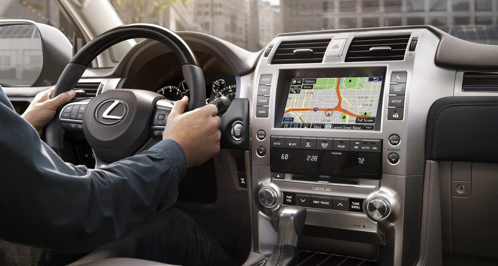 2021 Lexus GX460 Interior Lexus of Las Vegas