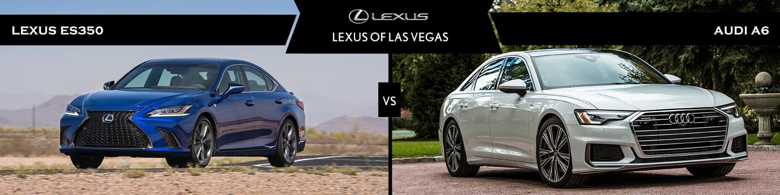 Lexus ES 350 vs Audi A6