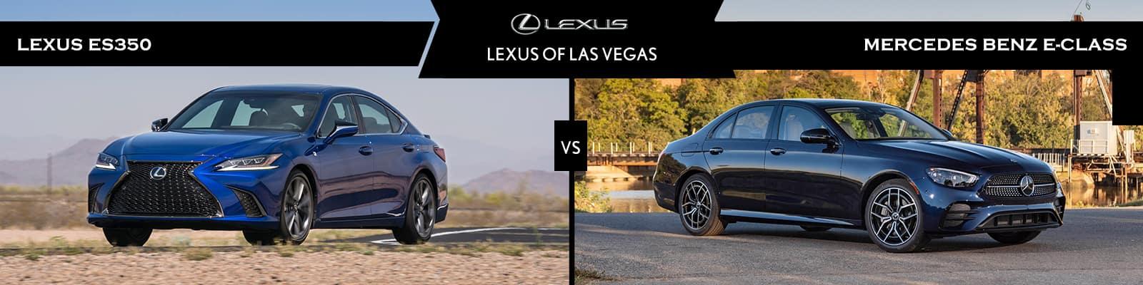 Lexus ES 350 vs Mercedes-Benz E 350