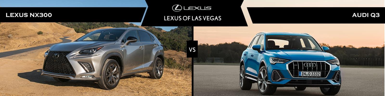 Lexus NX 300 vs Audi Q3