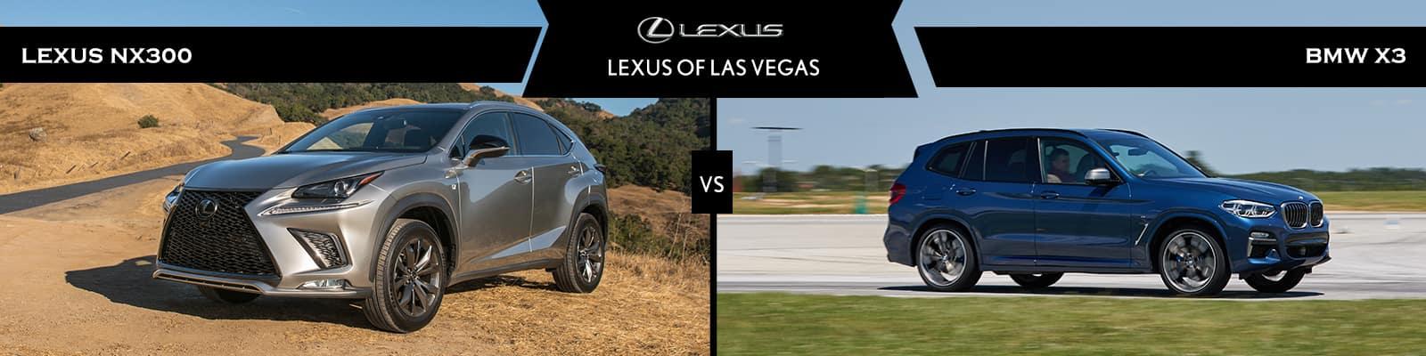 Lexus NX 300 vs BMW X3