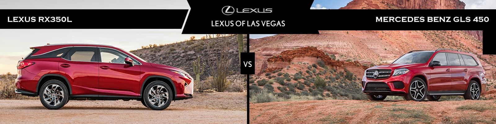 Lexus RX 350L vs Mercedes-Benz GLS