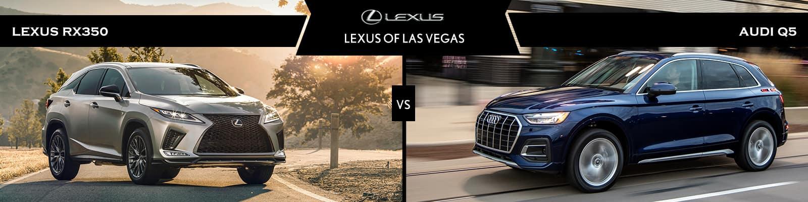 Lexus RX 350 vs Audi Q5