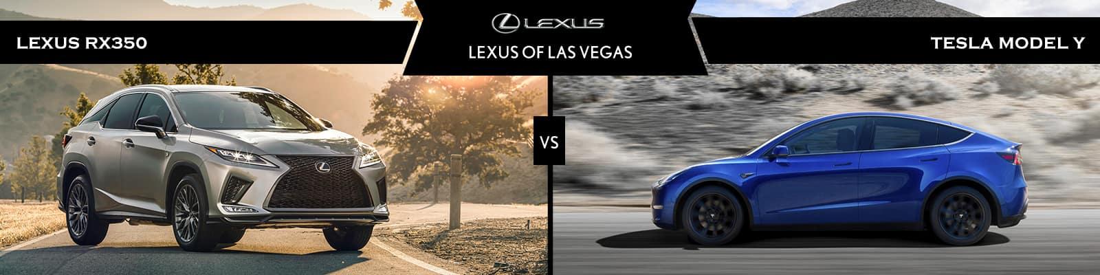 Lexus RX 350 vs Tesla Model Y