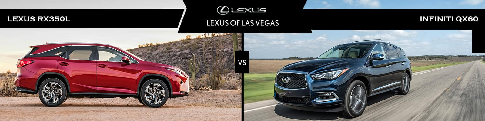 Lexus RX 350L vs Infiniti QX60