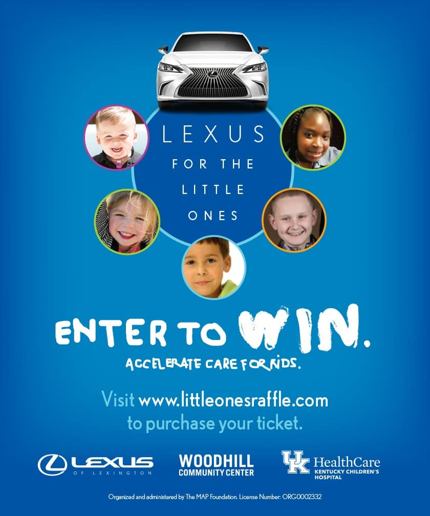 Lexus for the Little Ones Raffle Lexington KY