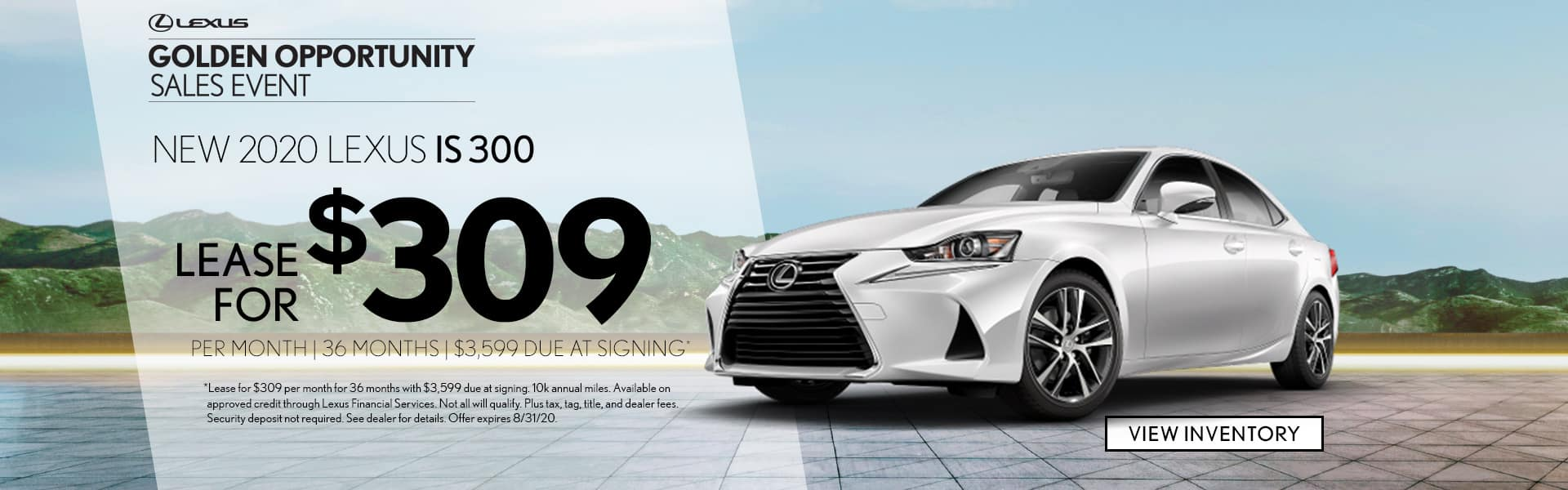 New 2020 Lexus IS for lease Mobile AL