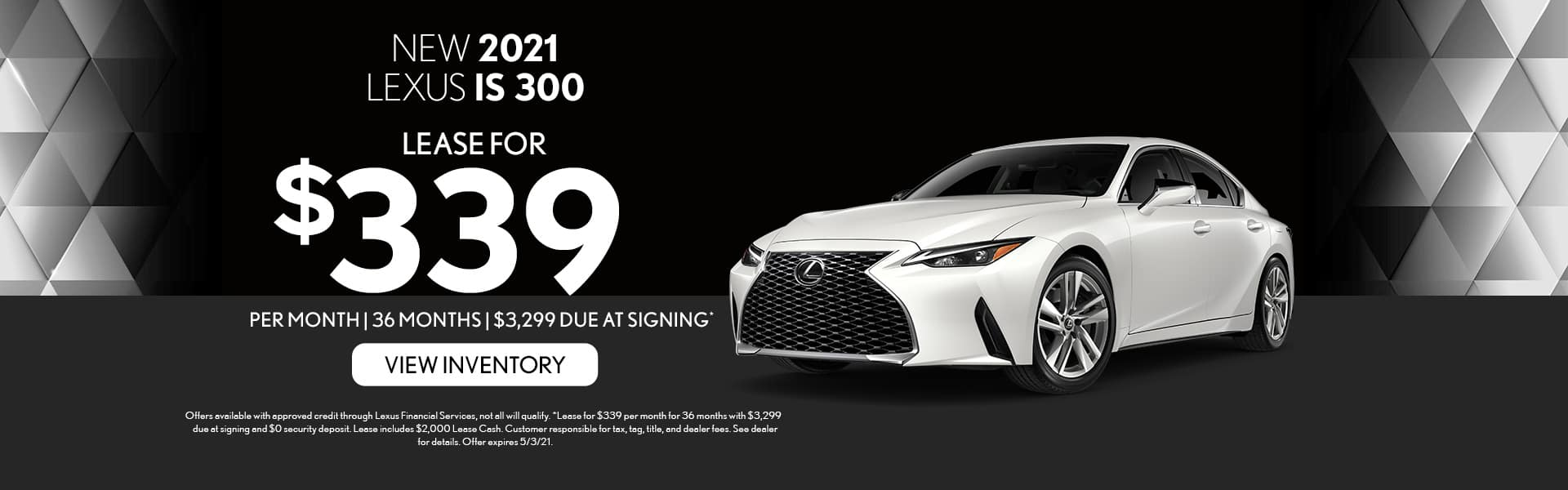 2021 Lexus IS 300 for lease in Mobile, AL