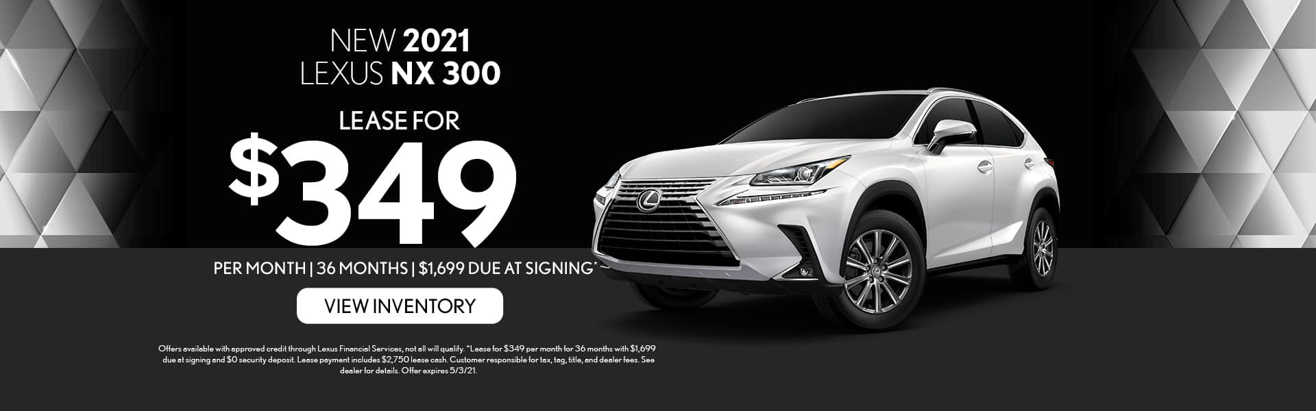 2021 Lexus NX 300 for lease in Mobile, AL