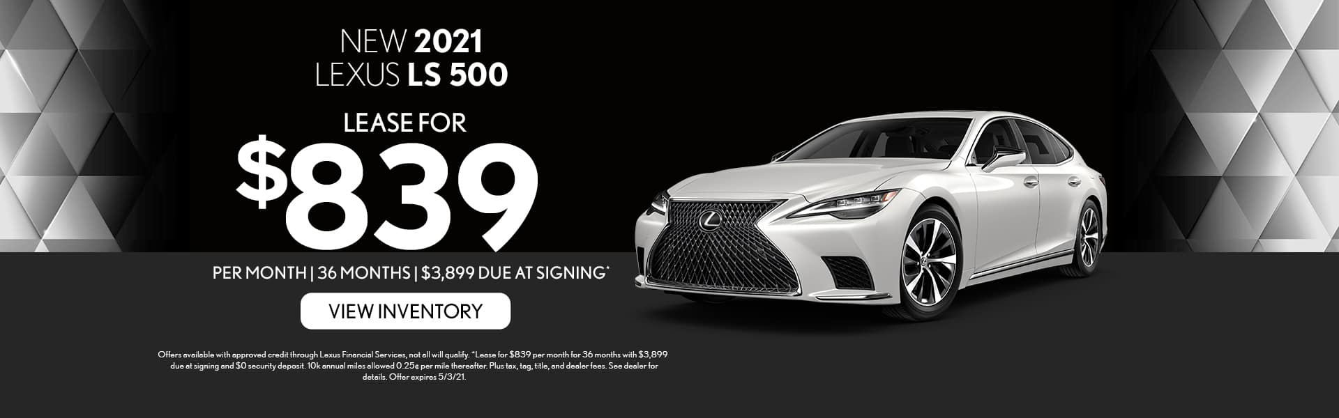 2021 Lexus LS 500 for lease in Mobile, AL
