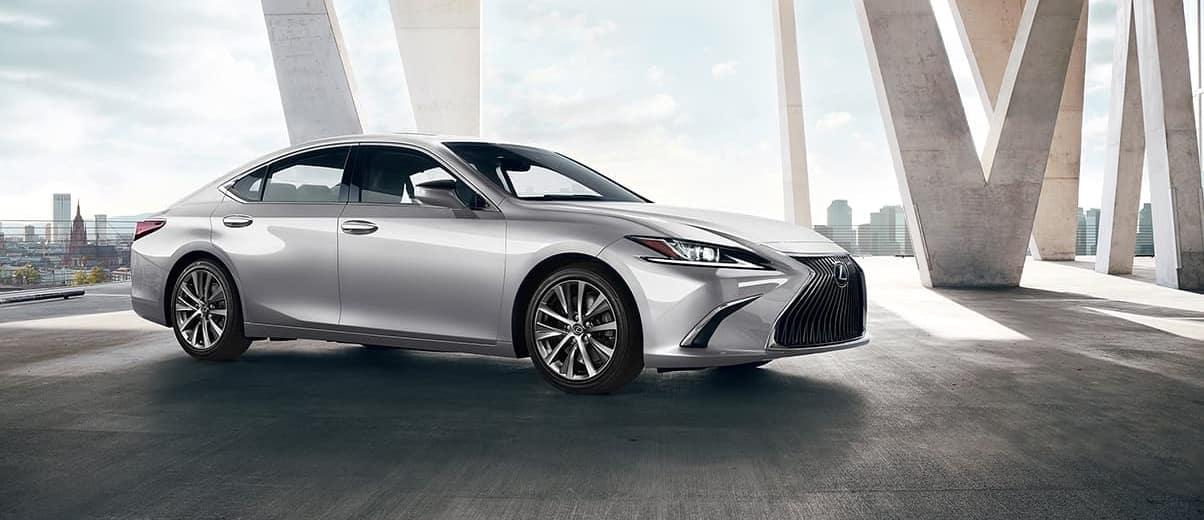2020 Lexus ES, Silver Exterior