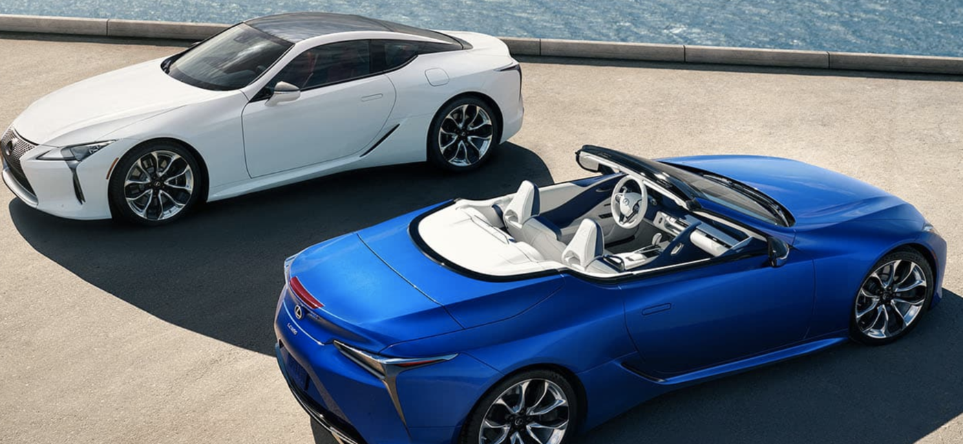 Lexus 2021 LC Convertibles