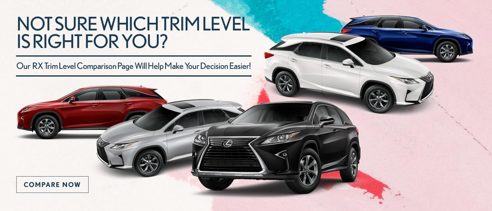 Find Out Which Lexus RX Is RIght For You!