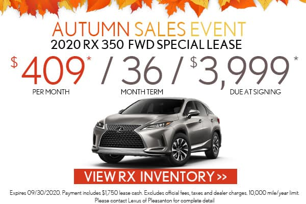 2019 RX 350 FWD