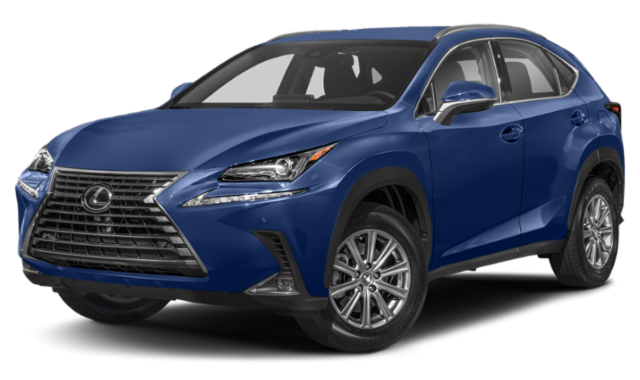 2020 blue lexus nx exterior