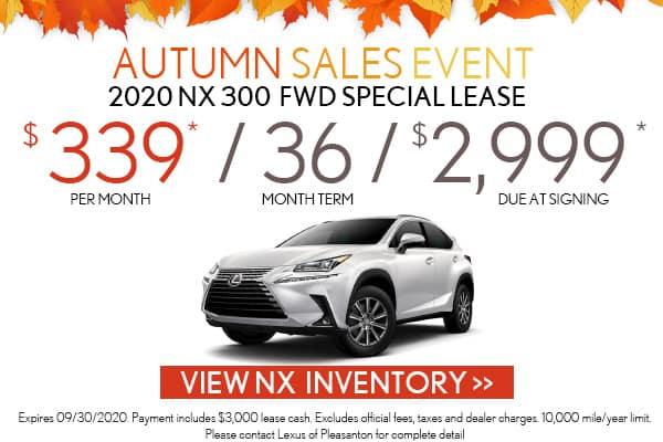 2020 Lexus NX 300 AWD