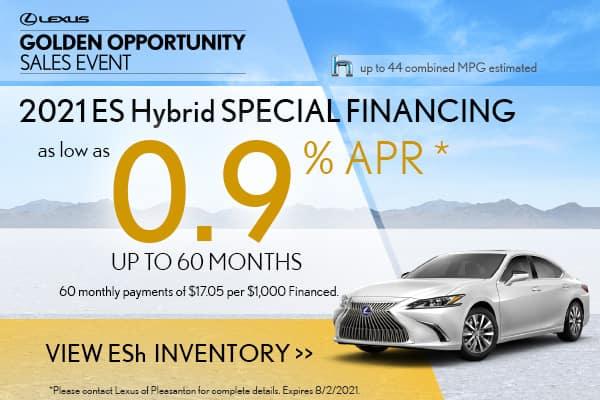 2021 ES Hybrid Special APR