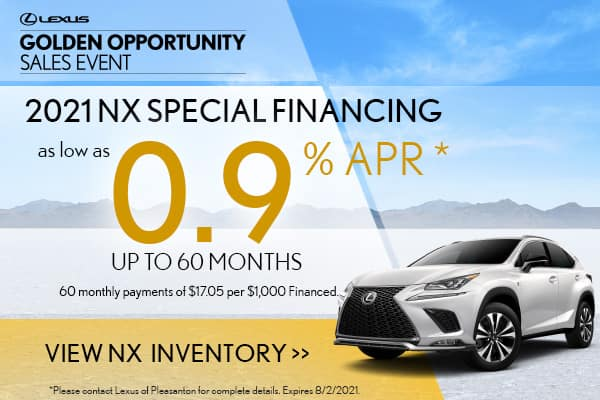 2021 NX300 Special APR