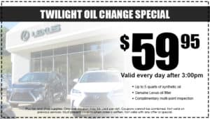 Twilight Oil Change