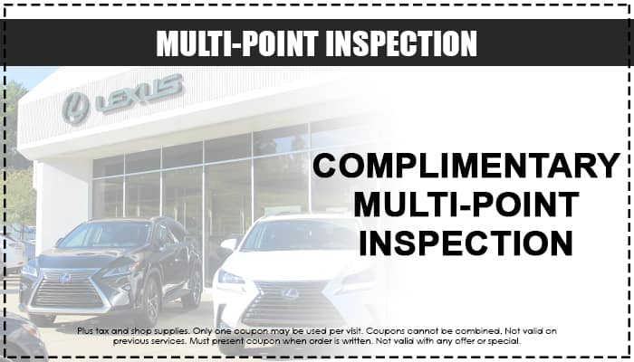 Complimentary Multi-Point Inspection