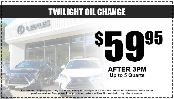 Twilight Oil Change