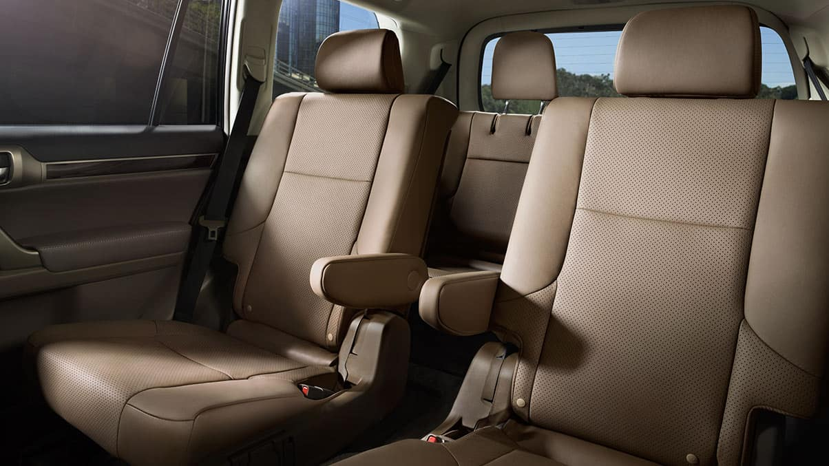 2019 Lexus GX interior ecru leather trim