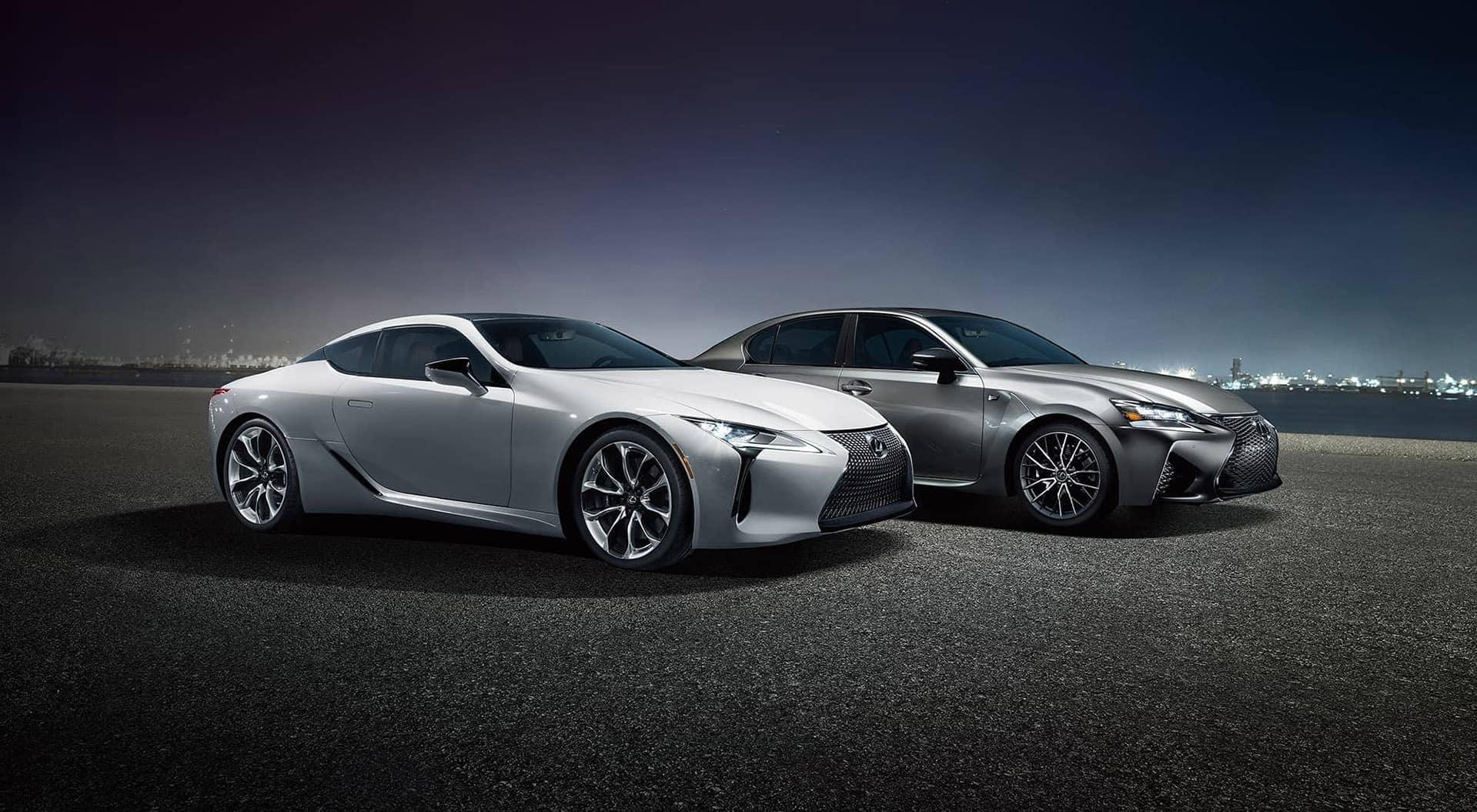 Lexus LFA side by side