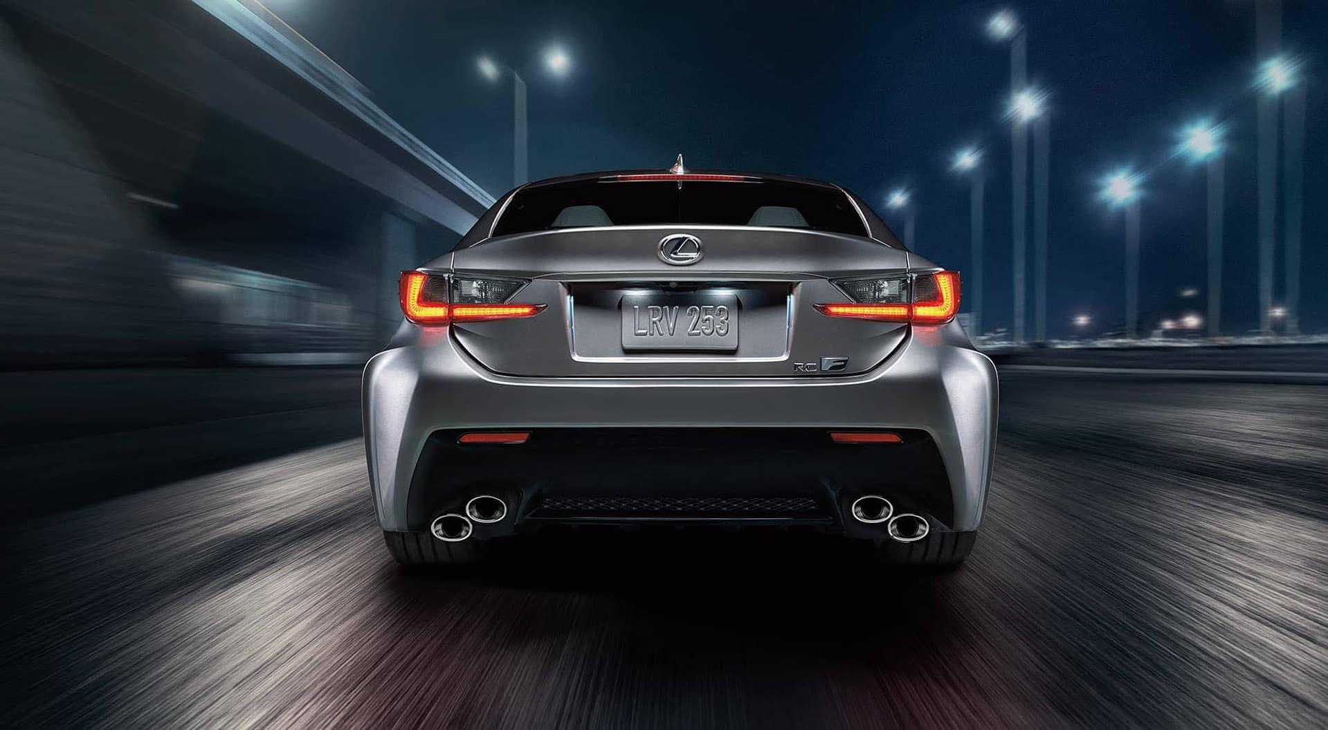 Lexus RC rear