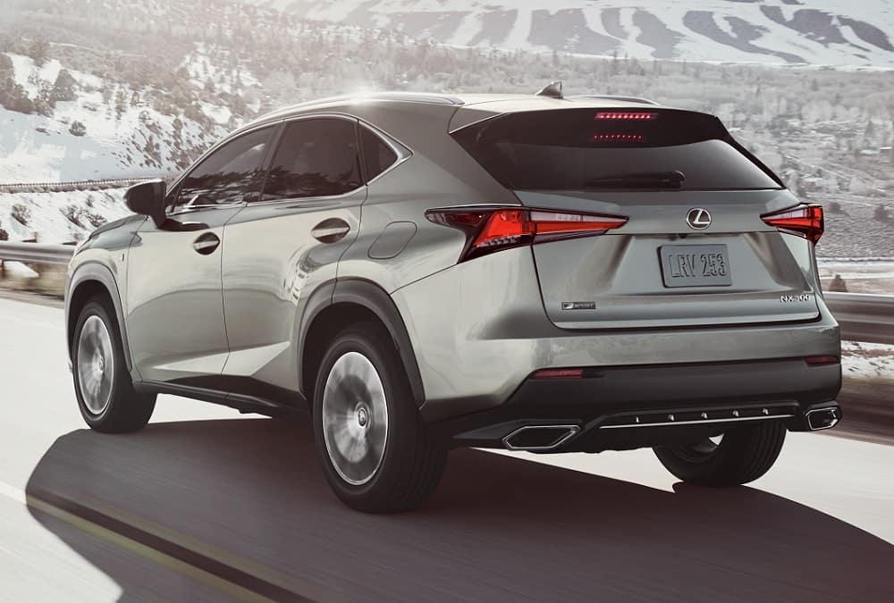 2020 Lexus NX Driving