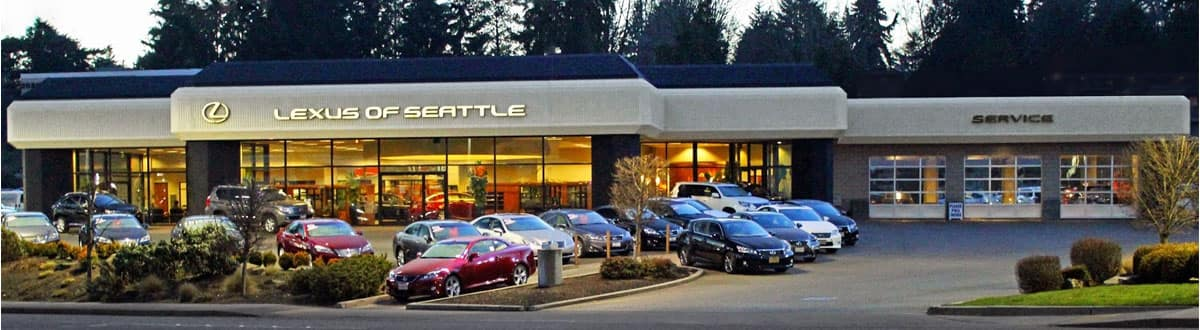 Lexus Dealer Serving Mukilteo, WA