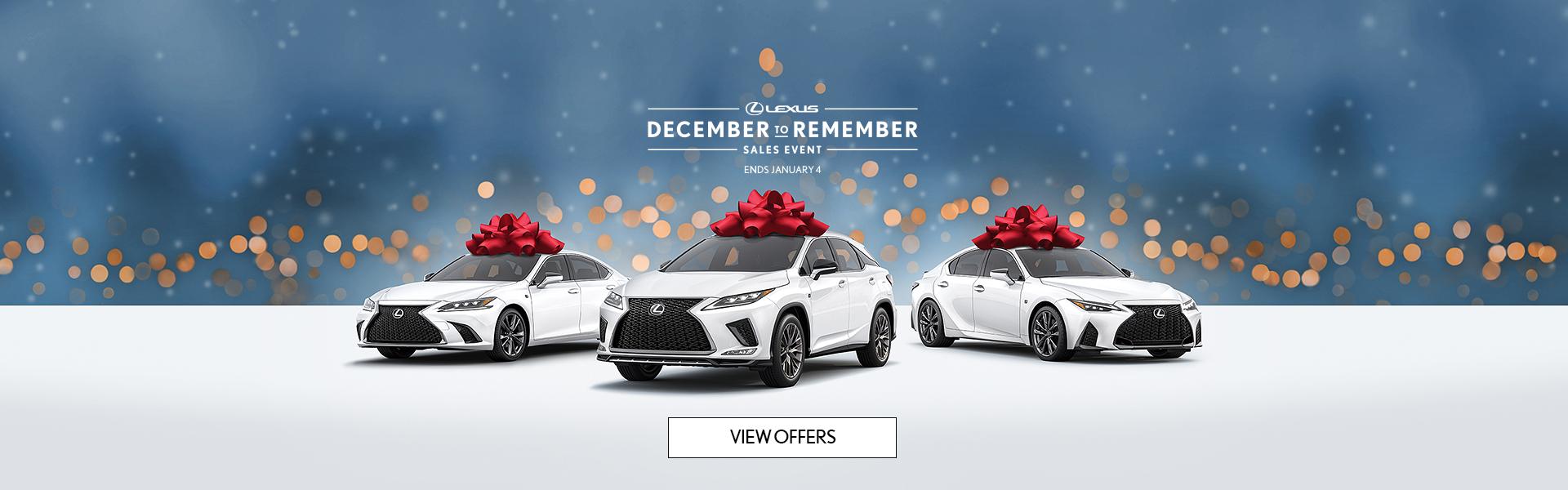 December to Remember – Homepage Slider – Jan 4