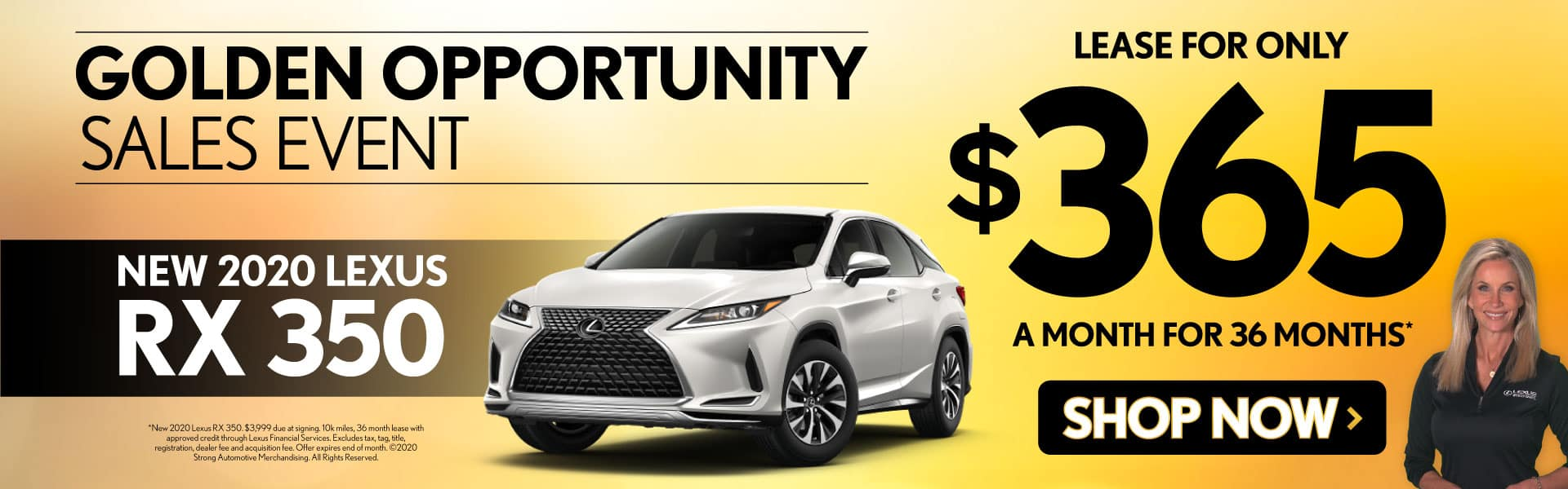 New 2020 Lexus RX 350 only $365/mo - Shop Now