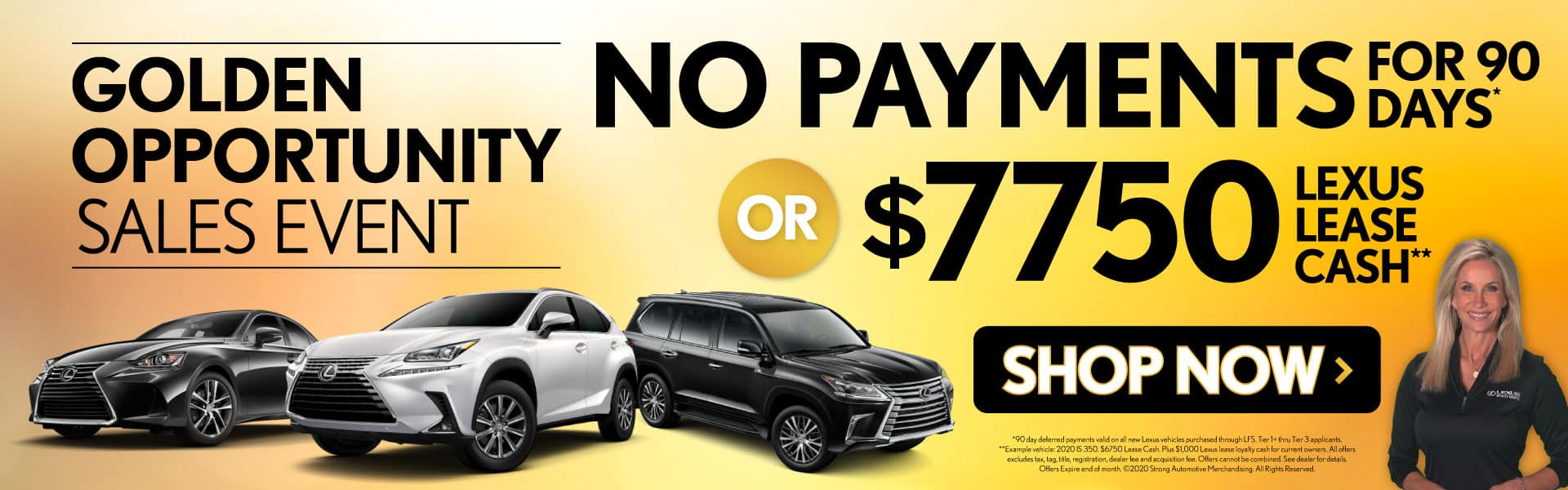 No Payments for 90 Days or $7750 Lease Cash - Shop Now