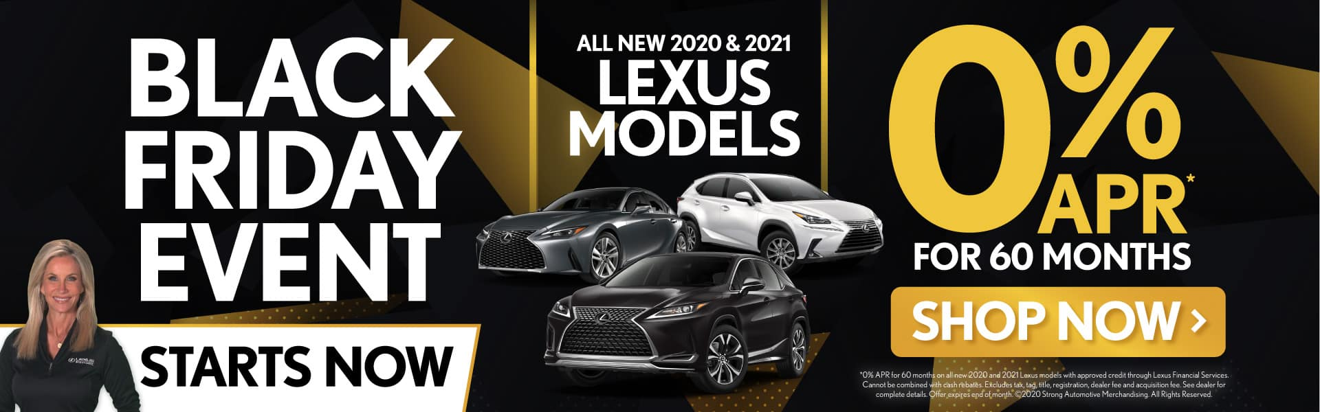 All New 2020 & 2021 Lexus Models 0% APR for 60 Months - SHOP NOW