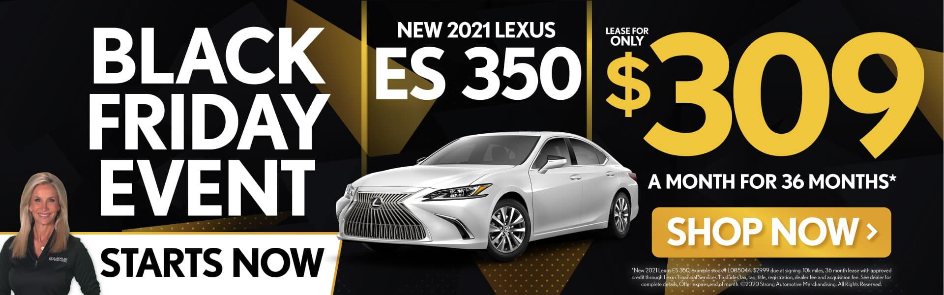 New 2021 Lexus ES 350 only $309/mo - SHOP NOW