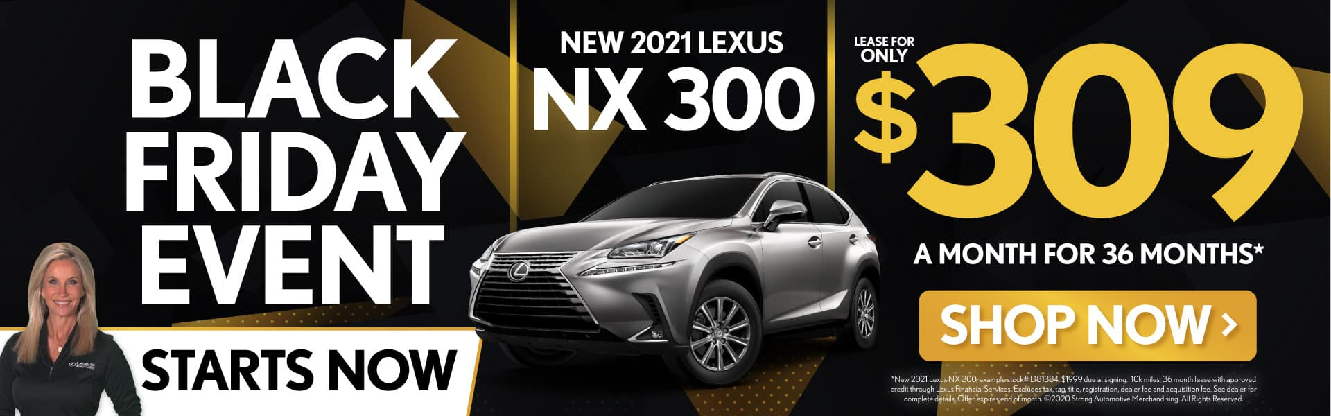 New 2021 Lexus NX 300 only $309/mo - SHOP NOW