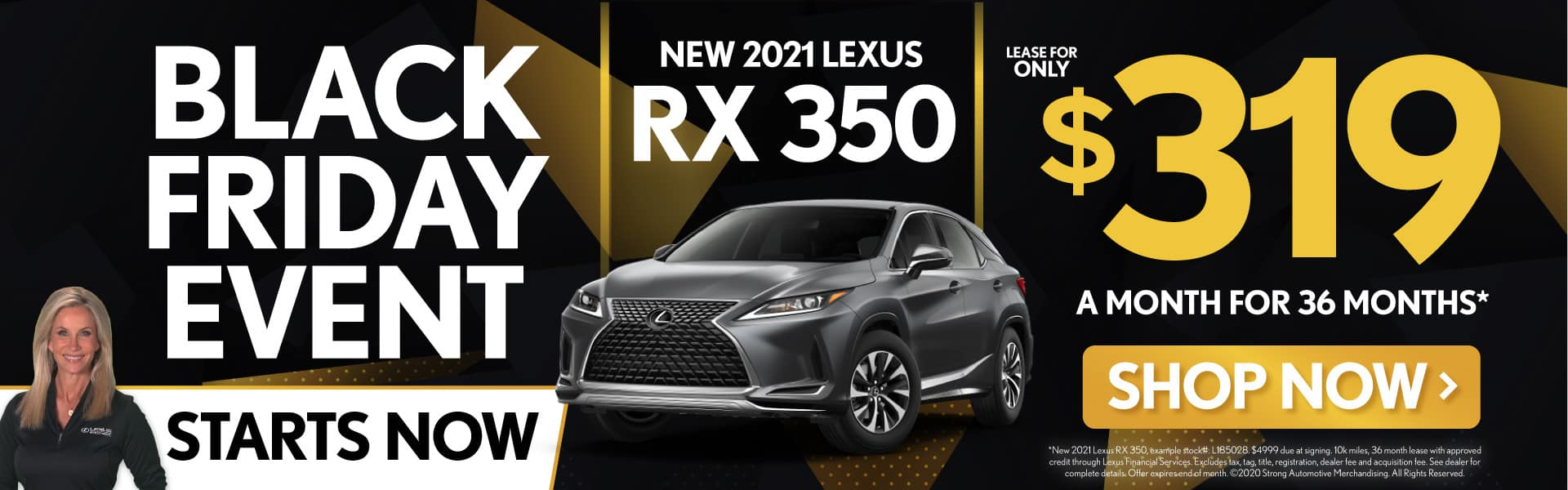 New 2021 Lexus RX 350 only $319/mo - SHOP NOW