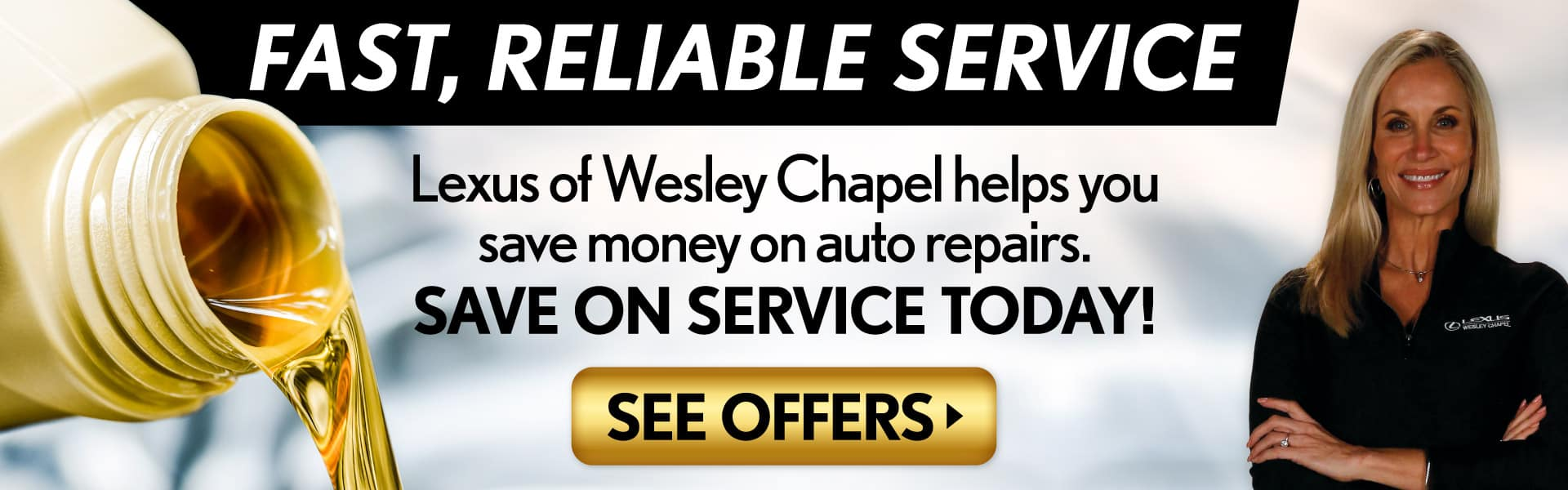 Fast, Reliable Service from Lexus of Wesley Chapel - Click to View Service Offers and Save Today!