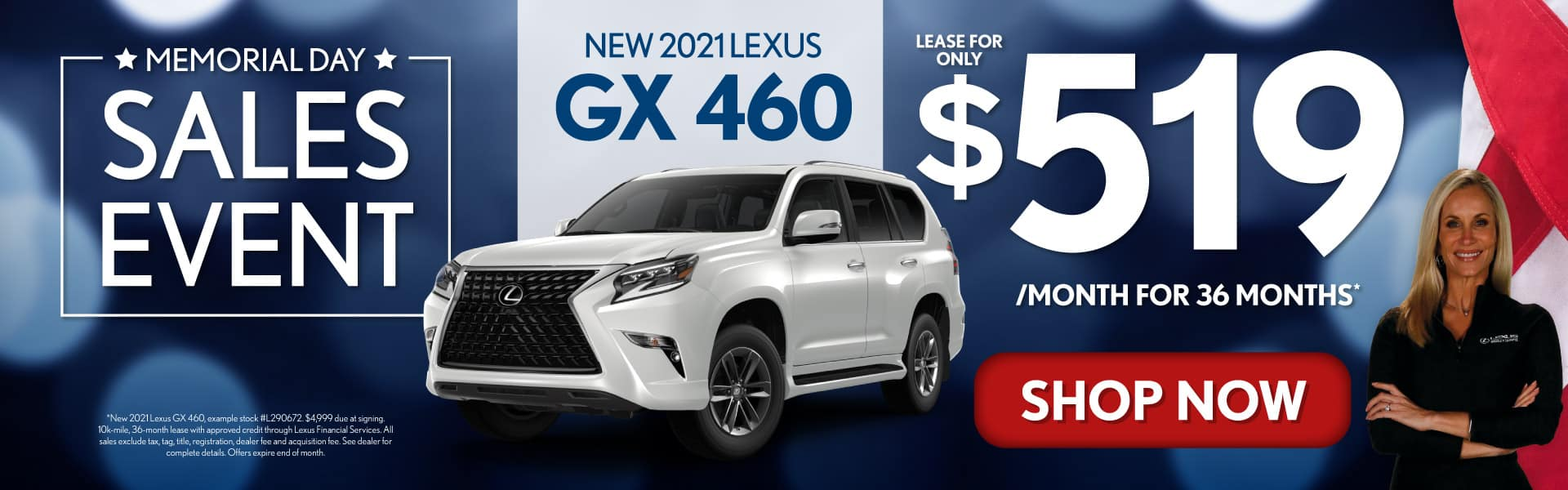 New 2021 Lexus GX 460 only $519/mo - SHOP NOW