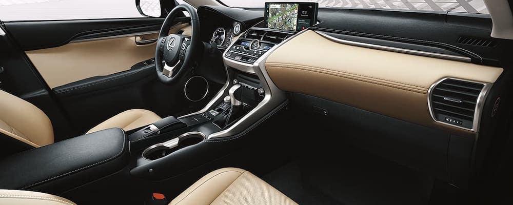 2020 Lexus NX dashboard