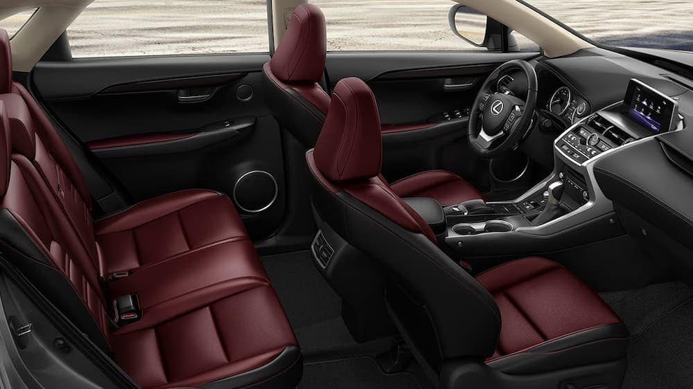What Is Inside The 2020 Lexus Nx Nx Interior Lexus Santa Monica