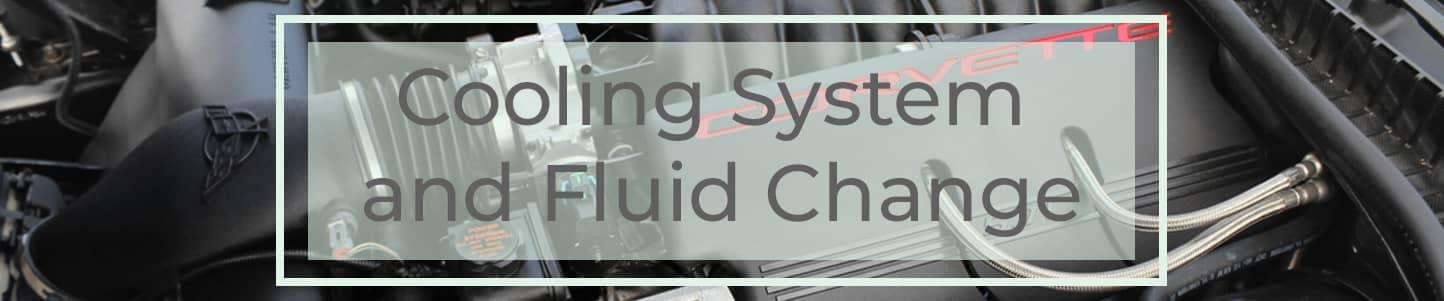 Cooling System and Fluid Change Header