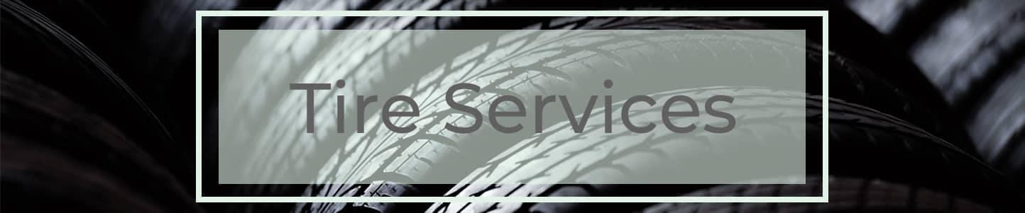 Tire Services Header