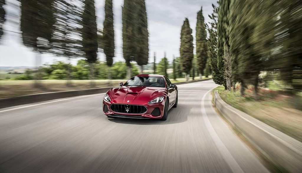 2019-Maserati-GranTurismo-on-the-road