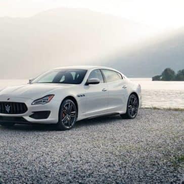 2019 Maserati Quattroporte by water