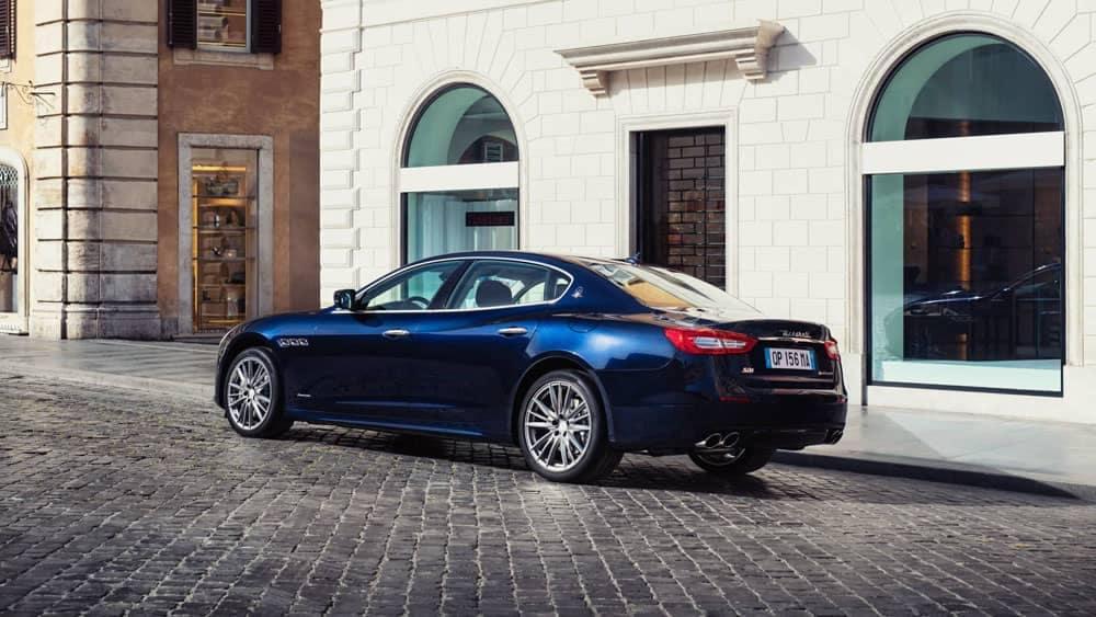 2019 Maserati Quattroporte in town